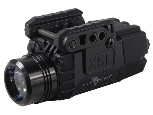 Best Buy! Viridian X5L Universal Mount Green Laser Sight with Tac Light (Black)