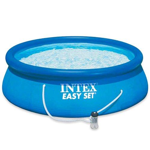 INTEX - Piscina Easy Set con depuradora, 305 x 76 cm (56922)