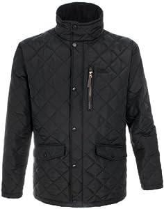 Trespass Men's Argyle Jacket - Black, 2X-Large
