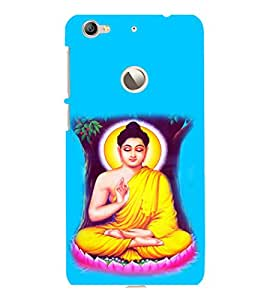 printtech Buddha Back Case Cover for LeEco Le 1s