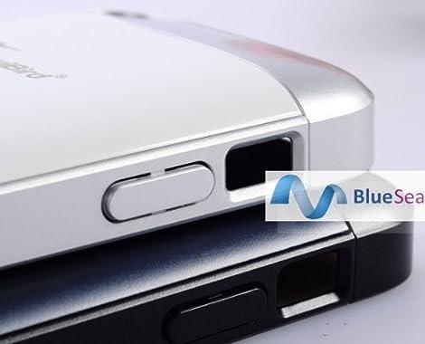 【BlueSea】ケースがモバイルバッテリー!!アプリも音楽もたくさん楽しもう! iPhone5対応 薄型大容量2000mAhバッテリーケース  Power Case KB2000-i5 ホワイト