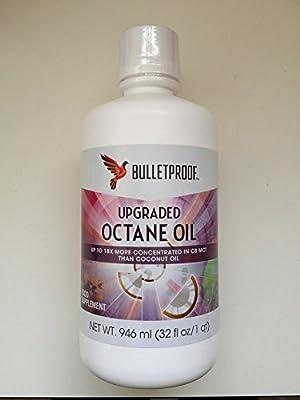 bulletproof upgraded octane oil 946ml 32 fl oz from bulletproof