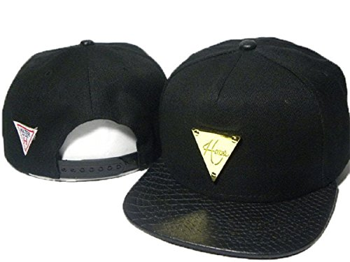 Hater Cappello regolabile cappelli di baseball (nero, 9)