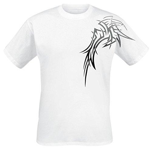 Demon Wings T-Shirt bianco XXL