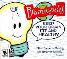New Brighter Minds Brainiversity Keep Your Brain Fit Games Puzzle Solving Windows Xp Vista - 1