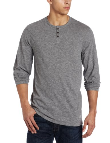 Long sleeve shirt for men best price with volcom men 39 s for Best henley long sleeve shirts