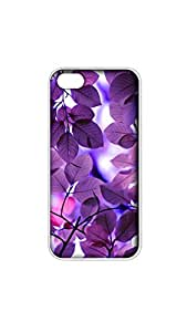 Leave Pattern Mobile Case/Cover For iPhone 6/6s 2D Transparent