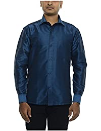 Silk shirts men clothing accessories for Mens silk shirts amazon