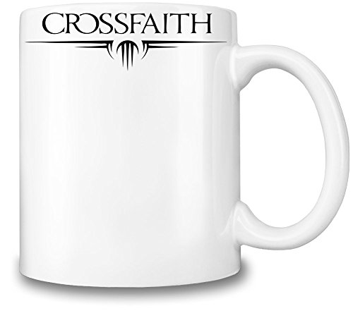 Crossfaith Black Logo Tazza Coffee Mug Ceramic Coffee Tea Beverage Kitchen Mugs By Genuine Fan Merchandise