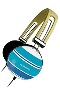 Zumreed ZHP-005 Border Striped Blue Headphones
