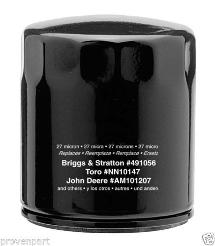 Oil Filter Replaces Briggs & Stratton 4153, 491056, and 491056S, 100802, 042366 (Oil Filters 3614 compare prices)