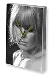 LINDA EVANS - Canvas Clock (LARGE A3 - Signed by the Artist) #js001