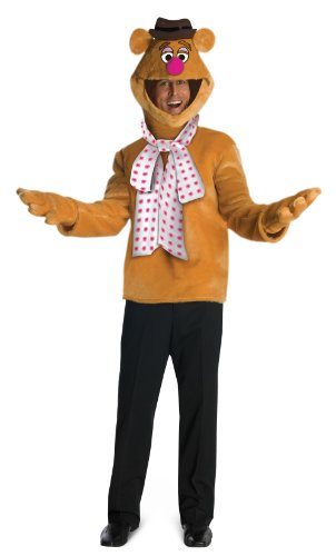 R880317 Fozzie Bear Costume (Kermit And Miss Piggy Costumes)