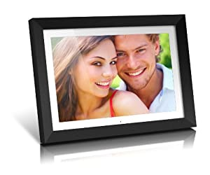 Aluratek ADMPF119 19-Inch Digital Photo Frame with 2 GB Built in Memory