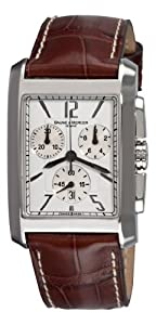 Baume & Mercier Men's 8823 Hampton Classic XL Chronograph Quartz White Dial Watch
