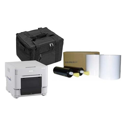 DNP-RX1-Compact-Pro-Photo-Booth-Portrait-Printer-BUNDLE-wcarrying-case-more
