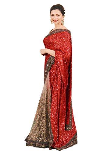 Glory Sarees Net Saree (Dipikaiffa101_Red)