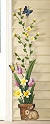 Blooming Spring Flowers Metal Wall Decoration By Collections Etc