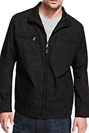 Autograph Pure Cotton Funnel Neck Jacket with Stormwear [T16-7267A-S]