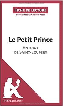 le petit prince d antoine de exup 233 ry