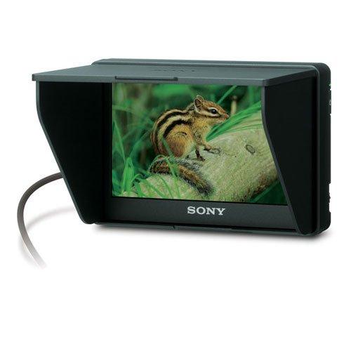 Sony CLMV55BDL1 5-Inch External LCD Monitor Bundle for Alpha/Handycam Cameras for Sony