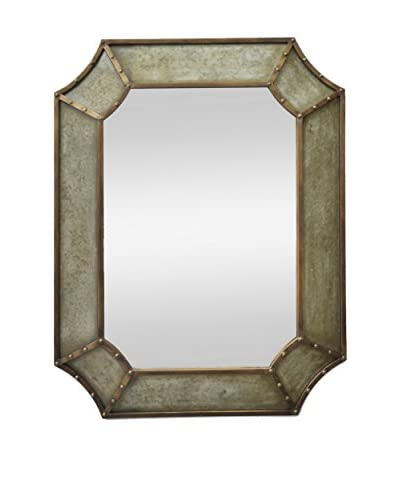 Three Hands Metal Frame Wall Mirror