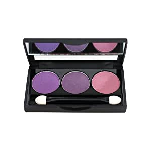 NYX Trio Eye Shadow, Purple/Deep Purple/Prune