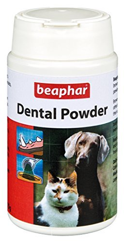 Beaphar Dental Pet Powder for Cats & Dogs 100% Natural Will Remove Bad Breath