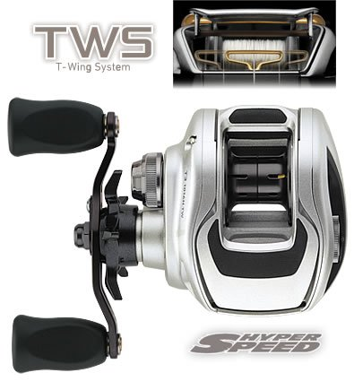 Daiwa T3-1016SHL Left Hand High Speed Baitcasting