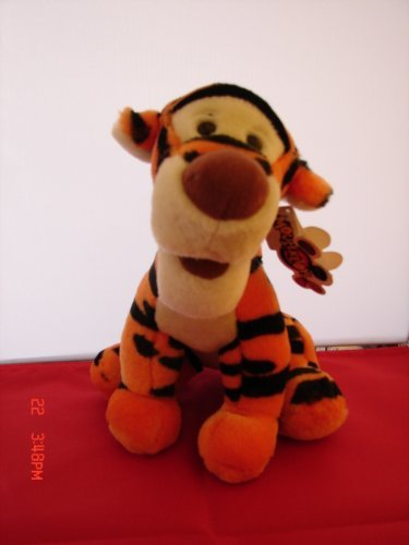 Disney Mouseketoys Tigger Plush Toy New with Tag - 1