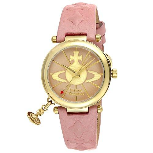 [ヴィヴィアン・ウエストウッド]VivienneWestwood 腕時計 オーブII ピンク文字盤 VV006PKPK レディース 【並行輸入品】