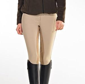 PFIFF Tina 100827-97-36 Pantalon fond de peau Femme Beige 36