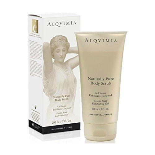 Alqvimia Naturally Pure Body Scrub Gel Esfoliante Per Il Corpo 200ml
