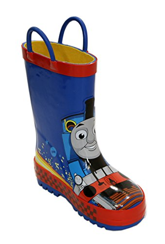 Thomas the Tank Engine 61239 Blue Rubber Rain Boot (9) (Thomas Train Shoes compare prices)