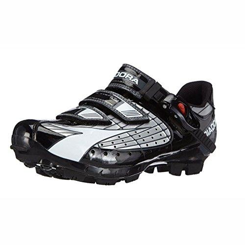 Diadora X Trivex Plus Men's MTB Cycling Shoe Silver/Black/White 45.5 EU