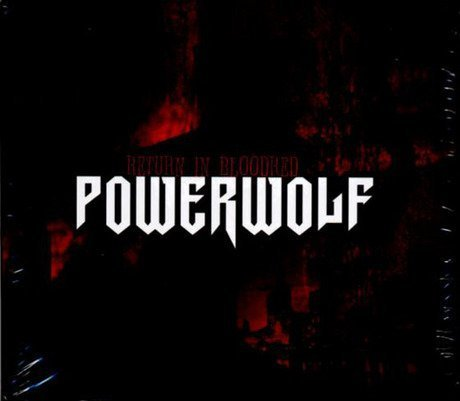 Return in Bloodred by Powerwolf (2005) Audio CD