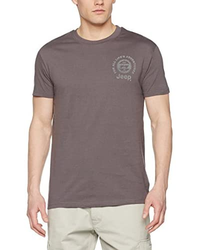 Jeep T-Shirt O100663 bordeaux/khaki