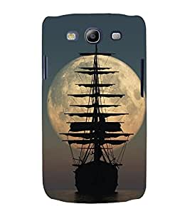 Sailing Boat 3D Hard Polycarbonate Designer Back Case Cover for Samsung Galaxy S3 :: Samsung Galaxy S3 i9300