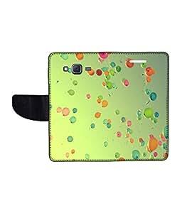 KolorEdge Printed Flip Cover For Samsung Galaxy On5 Multicolor - (1478-50KeMLogo10061SamOn5)