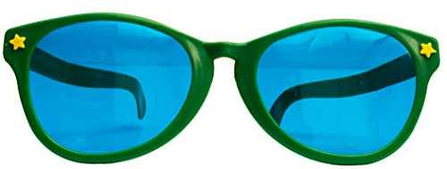 "Joker Party Clown Jumbo Novelty Sunglasses, Assorted Color, One-Size (10""W)"