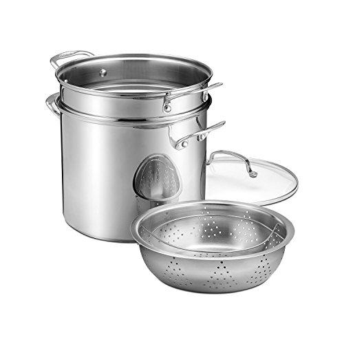 Cuisinart Vegetable Steamer ~ International cuisinart quart stockpot with cover pasta