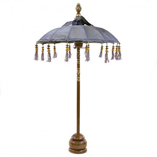 Koyal Wholesale Tabletop Bali Umbrella, 34-Inch, Gray front-189494