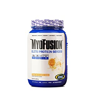 Gaspari Nutrition Myofusion Elite Diet Supplements, Peanut Butter Cookie Dough, 2 Pound