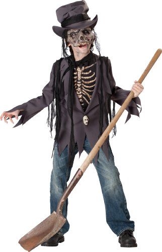 InCharacter Costumes, LLC Little Boys' Grave Robber Jacket Set