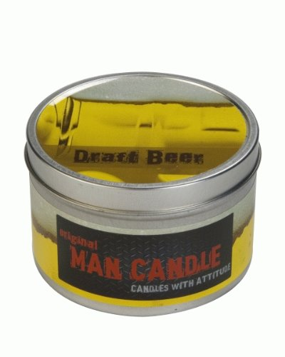 The Original Draft Beer Man Candle