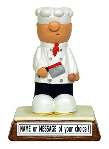 PERSONALIZED Chef / Cook miniature figure - the perfect gift for that special someone who is king or queen of
