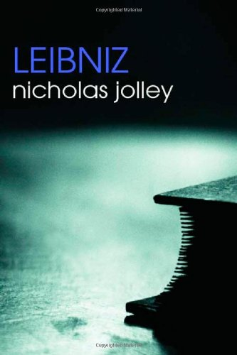 Nichols Jolley, Leibniz (Routledge Philosophers)