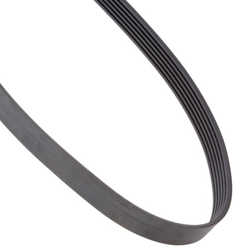 SPZ 1900X6 RIBS Ametric® Metric SPZ Profile Banded V-Belt, 6 Ribs, 9.7 mm Wide per Rib, 10.5 mm High, 1900 mm Long, (Mfg Code 1-046)
