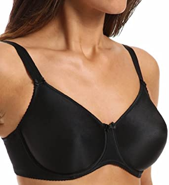 Prima Donna Satin Seamless Underwire Bra (016-1330) 32G/Black