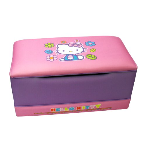 Hello Kitty Toy Chest : Best hello kitty toy box lavender labibava s